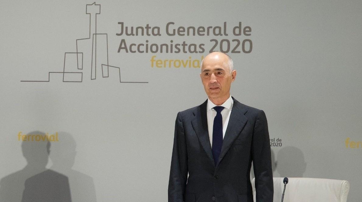 Rafael del Pino, presidente y primer accionista de Ferrovial (Foto_ Archivo Ferrovial)