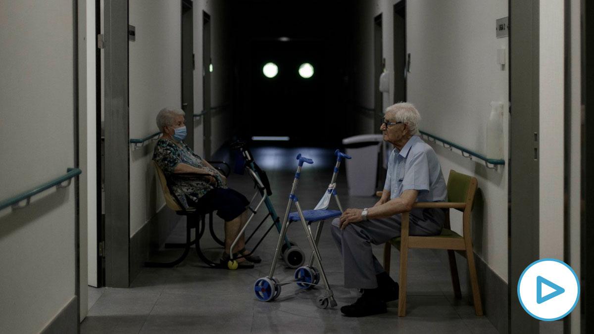 Una residencia de ancianos.
