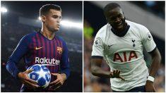Coutinho-Ndombelé, posible trueque entre Barça y Tottenham.