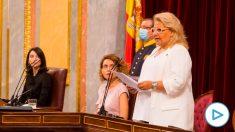 La vicepresidenta de la Fundación Víctimas del Terrorismo, Ángeles Pedraza. Foto: EP