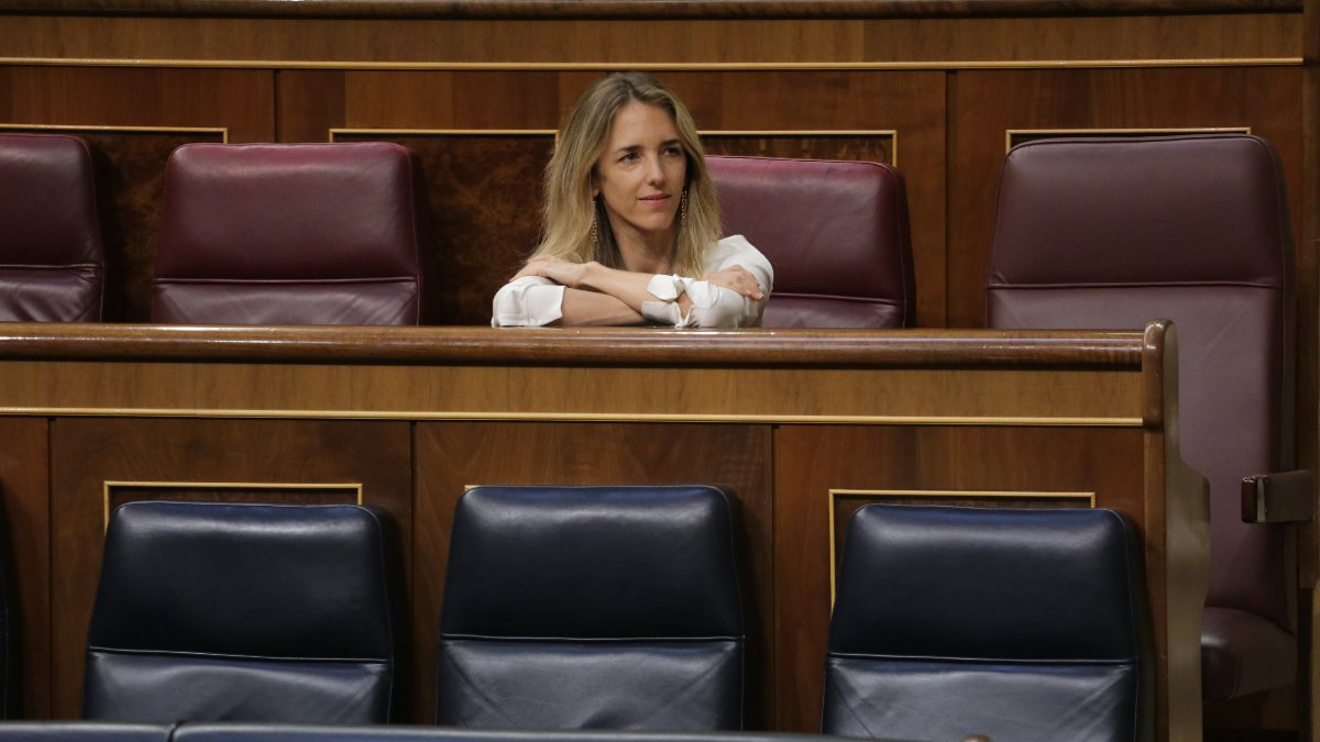 La portavoz parlamentaria popular, Cayetana Álvarez de Toledo. Foto: EP