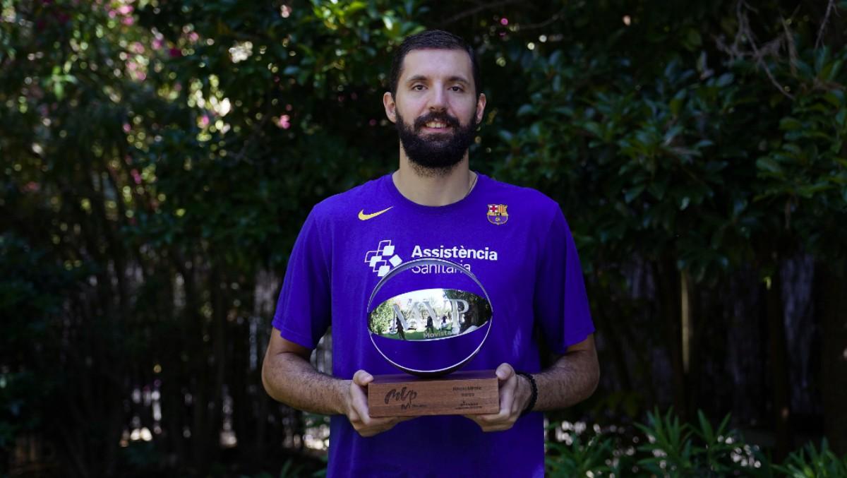 Nikola Mirotic, MVP de la temporada 2019-20. (ACB)