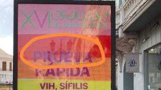 Cartel LGTBI del Ayuntamiento de Melilla.