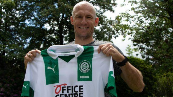 Robben descuelga las botas a los 36 años: ficha por el Groningen ...