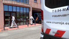 Sede de Cruz Roja en calle Elena Soriano de Málaga. Foto: EP
