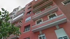 Fachada del piso que heredará Pablo Iglesias en el lujoso barrio de Salamanca de Madrid.