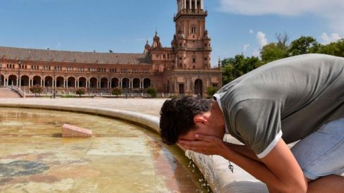 Calor en Sevilla