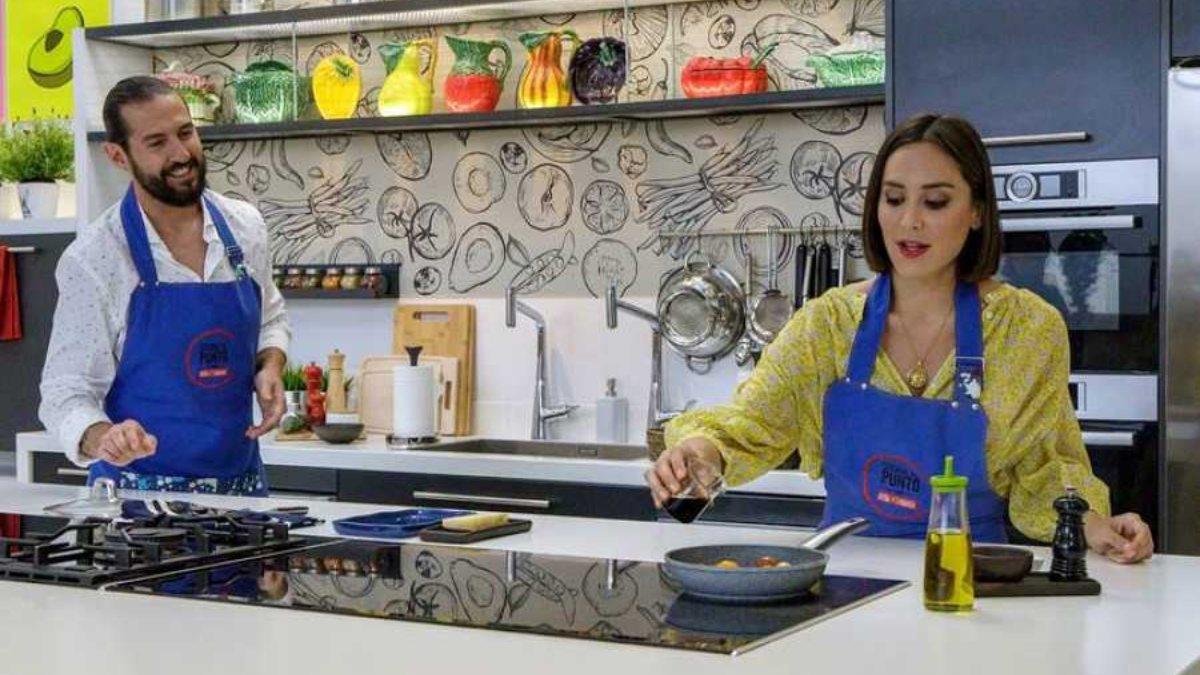 Tamara Falcó y Javier Peña presentan 'Cocina al punto'