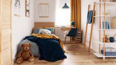 Trucos para ordenar las habitaciones de los niños