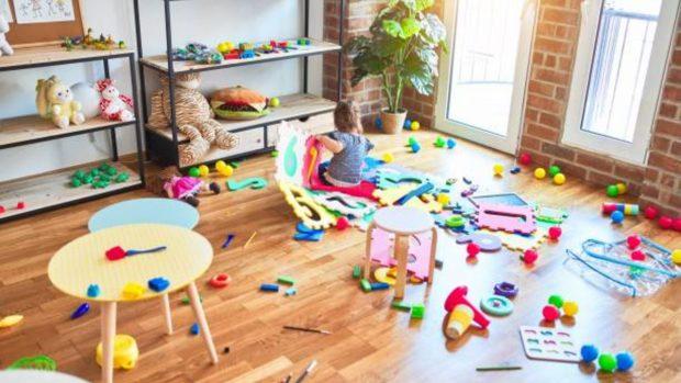 Cómo tener las habitaciones de los niños ordenadas y limpias: 4 trucos simples