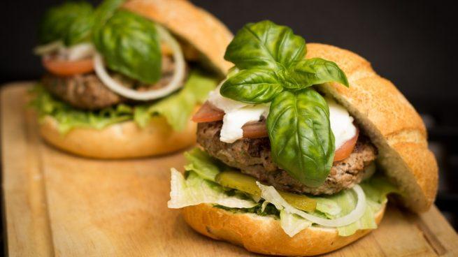 Receta de hamburguesas de lentejas con tofu