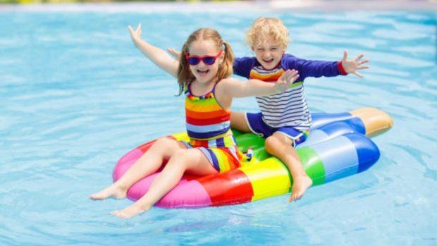 juegos piscina niños