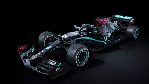 Los nuevos colores de Mercedes.