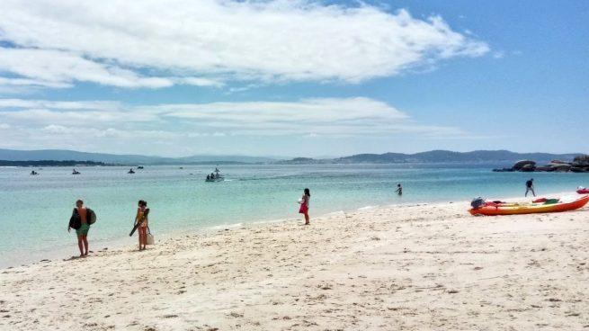 Vacaciones 2020: Isla de Areoso, el Caribe en Galicia