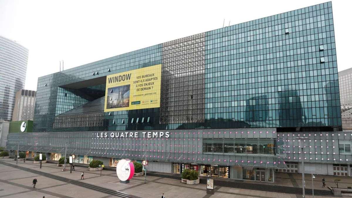 Centro comercial Les Quatre Temps