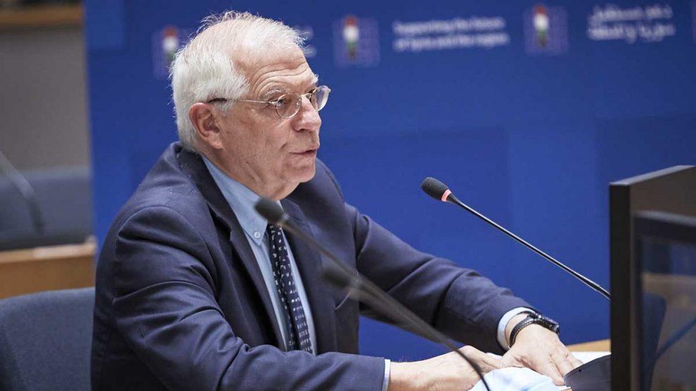 Josep Borrell. Foto: EP