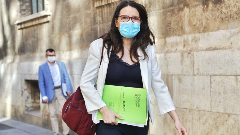La vicepresidenta primera de la Generalitat Valenciana, Mónica Oltra. (Foto: Europa Press)