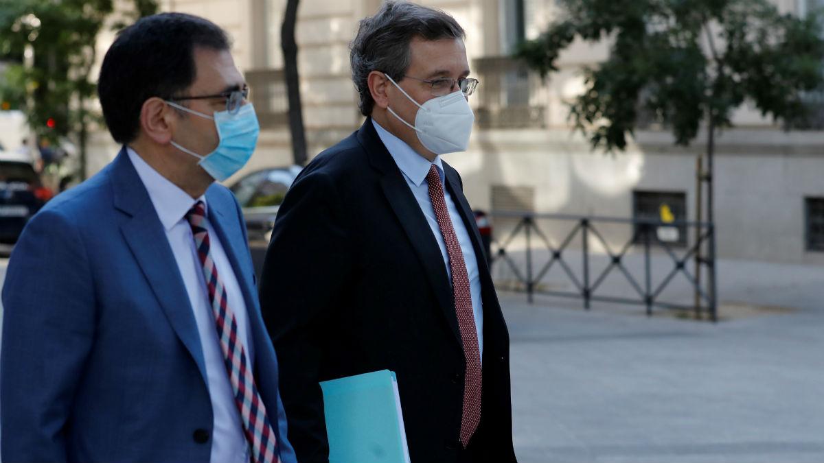 Ricardo Currás, ex CEO de DIA, llega este martes a la Audiencia Nacional