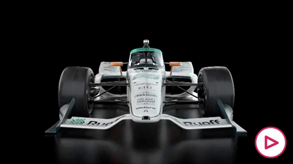 McLaren presenta el coche de Alonso para la Indy 500.