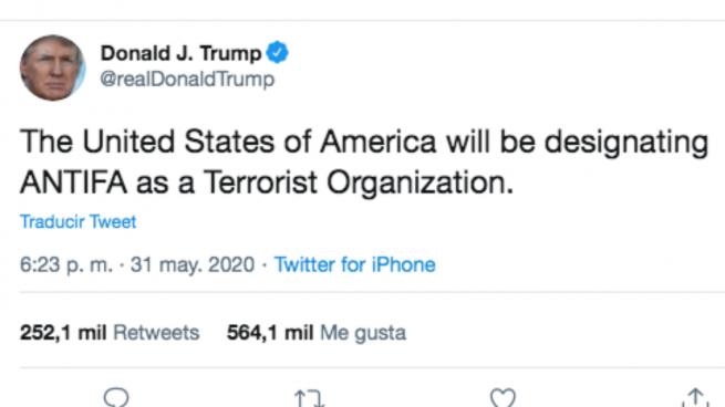 Trump antifa