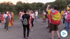 Cacerolada contra el Gobierno en Galapagar.