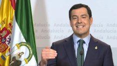 Juanma Moreno, Presidente de la Junta de Andalucía.