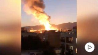 explosión-teherán