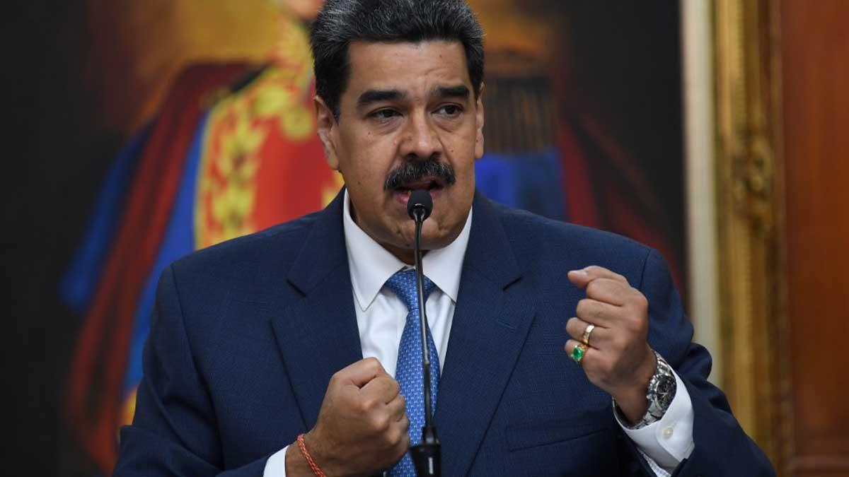 Nicolás Maduro, dictador de Venezuela. Foto: AFP