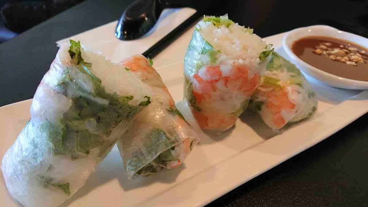 Receta clásica china de rollitos primavera con verduras