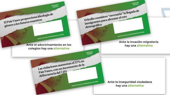 sobres vox elecciones correos censura pais vasco