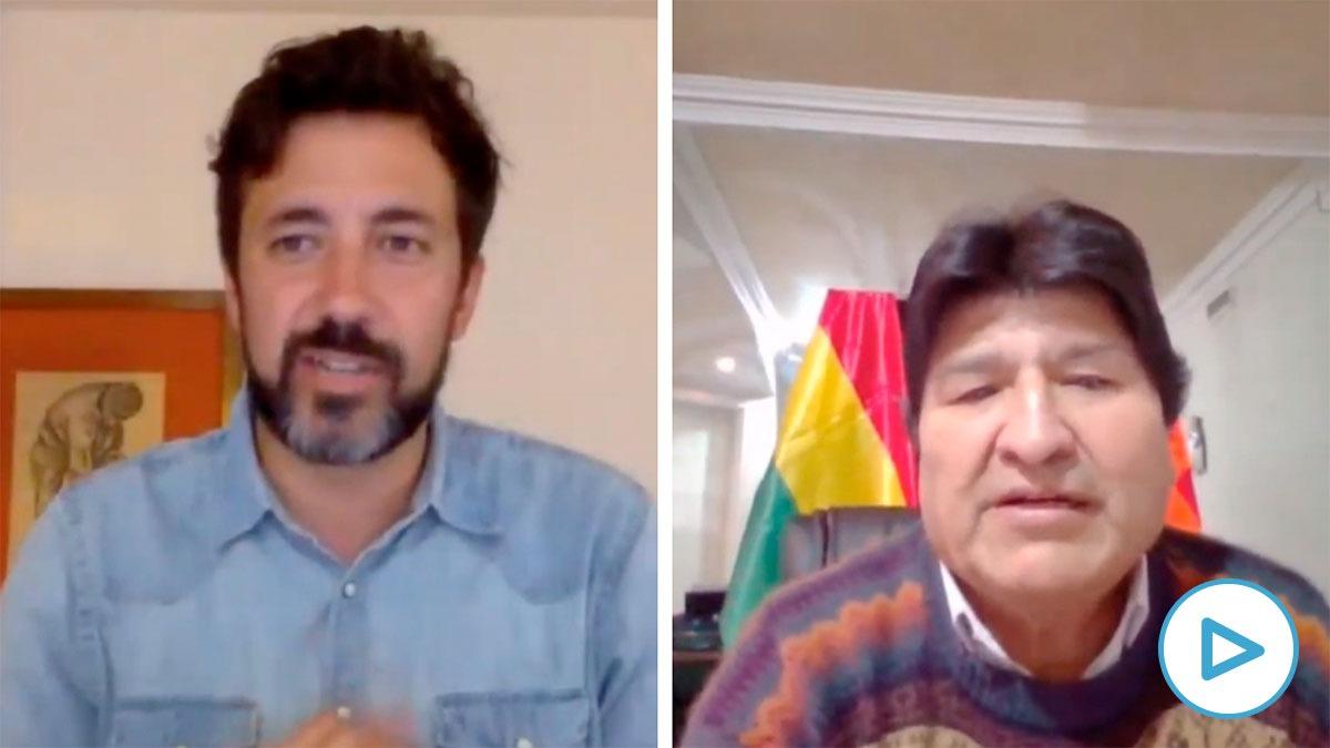 Podemos recurre a Evo Morales en su campaña en Galicia: «Tu gestión en Bolivia es un ejemplo»