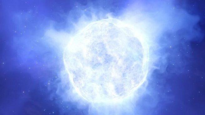 Desaparece una estrella 2,5 millones de veces más brillante que el Sol