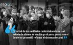 Sánchez deja a 18.000 héroes en la calle