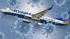 Ryanair ya comienza a retirar vuelos en España y mandará a más empleados al ERTE