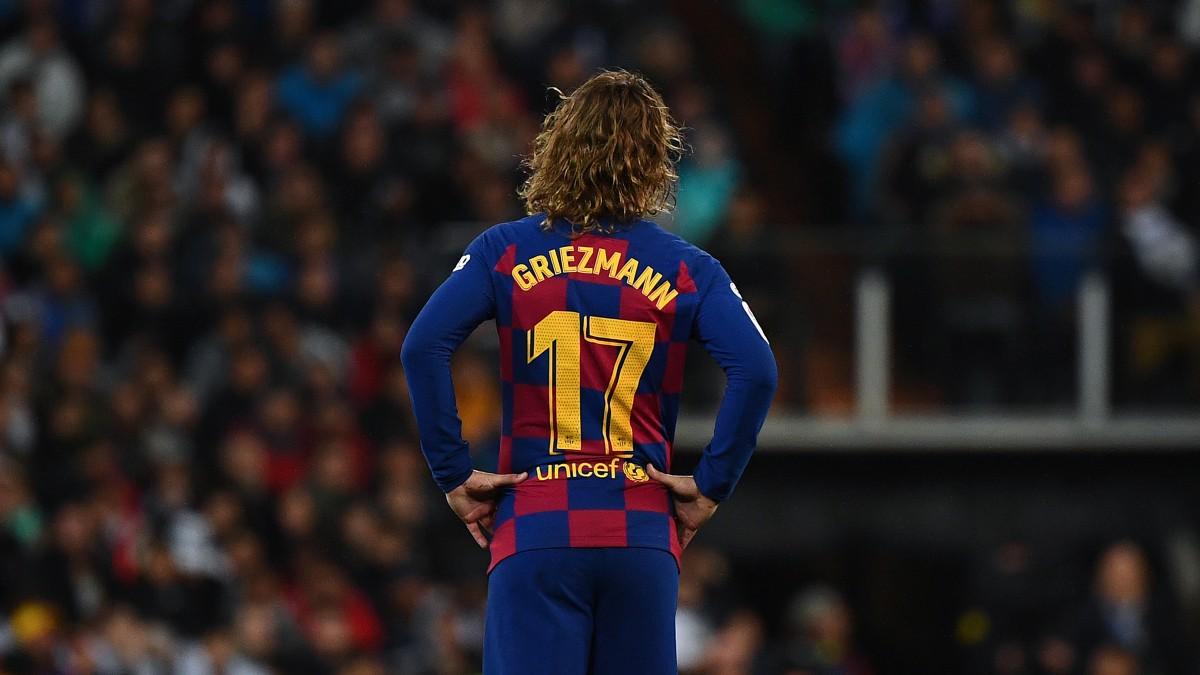 Antoine Griezmann, en un partido del FC Barcelona (AFP).
