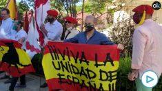 Manifestación contra el 'Black Lives Matter' en Sevilla.