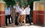 Los Reyes continúan su gira por España: recorren una granja escuelaen su visita a Cuenca