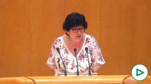 Pilar González, Senadora de Adelante Andalucía (Podemos e IU en Andalucía).