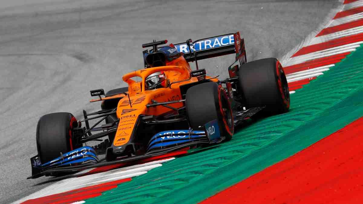 Carlos Sainz durante el GP de Austria. (AFP)