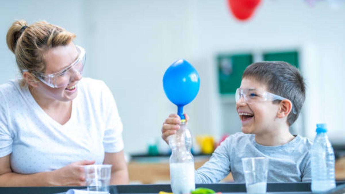 Los mejores experimentos con aire para los niños