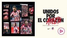 Así es la nueva camiseta del Atlético para la temporada 2020-21. (atleticodemadrid.com)