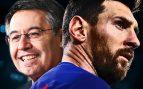 A Bartomeu no le preocupa la posible marcha de Messi