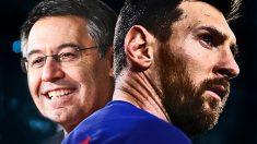 Bartomeu ha conseguido retener a Messi en el Barcelona.