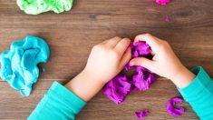Pasos para crear pasta para modelar con pegamento