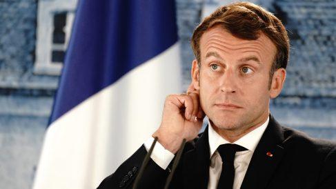 Emmanuel Macron, presidente de Francia.