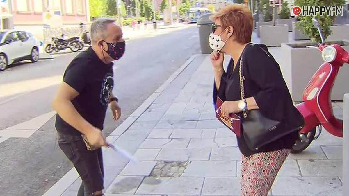 Terelu Campos y Víctor Sandoval