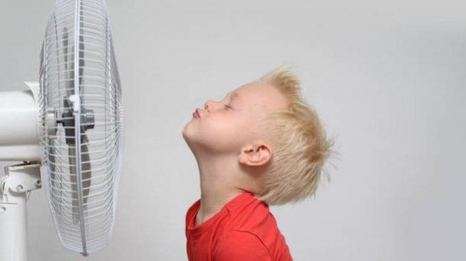alergia sudor en niños