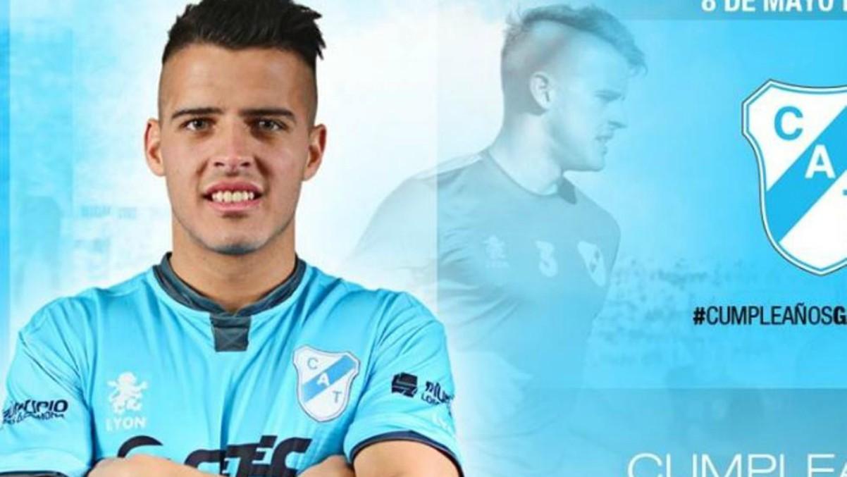 Alexis Zárate, ex jugador de Temperley e Independiente. (Foto: temperley.org.ar)