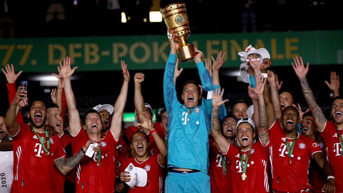 El Bayern gana la Copa alemana tras ganar al Leverkusen. (Getty)