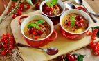 Receta de crème brûlée de cerezas sin gluten
